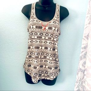 Mossimo Supply Co Aztec Print Tank Top. Size XS